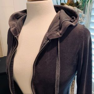 Darling Gray Hoodie with embellishments by Express